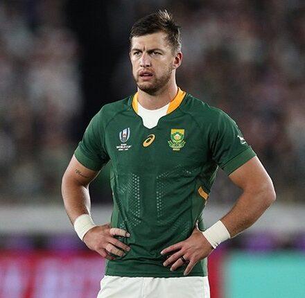 Bok playmaker Handre Pollard has 'no words' to describe Lions excitement