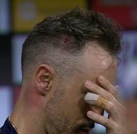 Faf du Plessis returns home from The Hundred after persistent concussion knock
